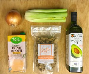 paleo stuffing ingredients